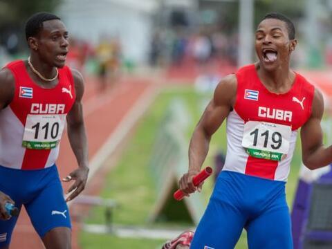 Cuba tuvo una buena jornada en el atletismo y le arrebató la punt...