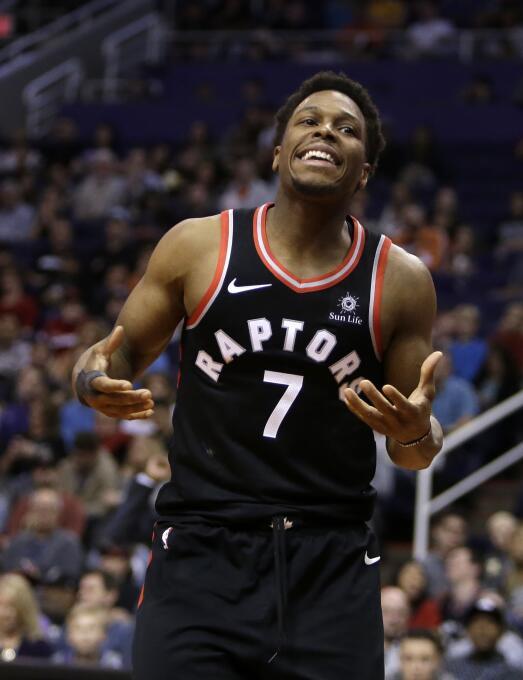 6. Kyle Lowry (Toronto Raptors) - 28,703,704 millones de dólares