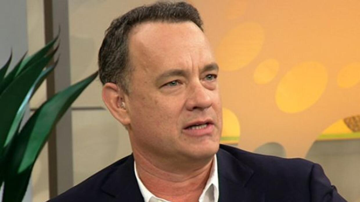 El actor Tom Hanks despertó América