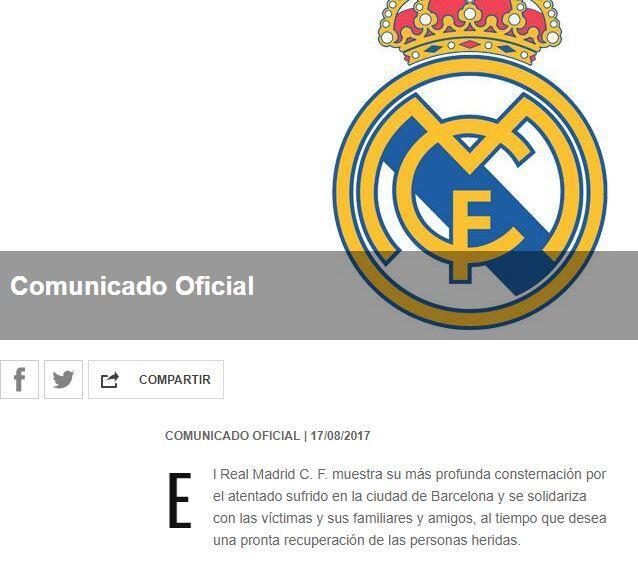 El mundo del deporte se solidariza con las víctimas de Barcelona BCN5.JPG