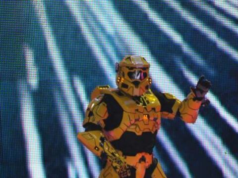 Esta vez los peques llegaron acompañados de un robot.