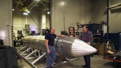 Fotos: MOAB, la bomba no nuclear más potente de EEUU lanzada en combate