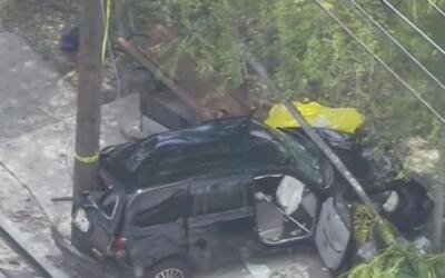 Una persona muerta y siete más heridas es el saldo del choque de un auto...