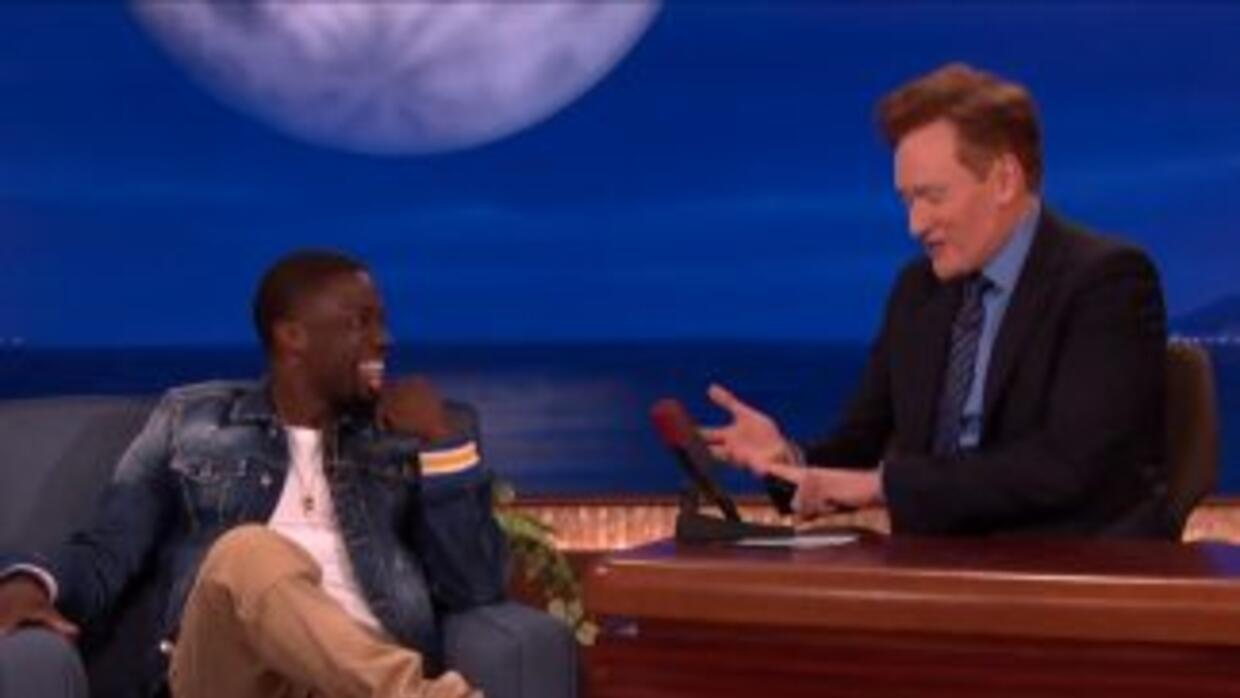 Kevin Hart on Conan