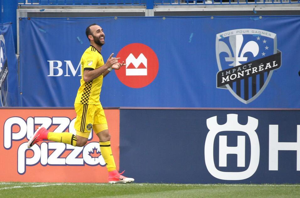 Justin Meram fue el héroe del Crew en la victoria 3-2 sobre Montreal Imp...