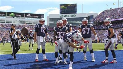 Highlights Temporada 2015 Semana 2: New England Patriots 40-32 Buffalo B...