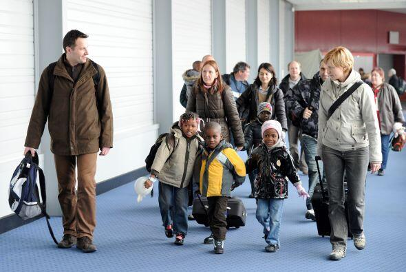 Se estima que alrededor de 700 pequeños están en Francia con sus familia...
