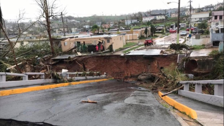 Corozal puerto rico despu s del paso del hurac n mar a - Puerto rico huracan maria ...