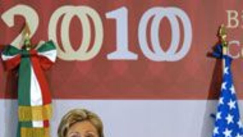 Hillary Clinton aceptó la resposabilidad de EU en la lucha contra el nar...