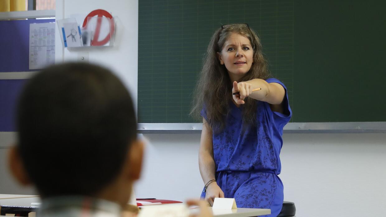 Casi la mitad de todos los maestros reportan sufrir mucho estrés a diario.
