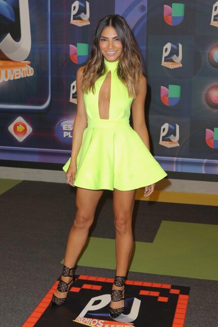 Otra vez Alejandra Espinoza, pero esta vez en 2015 y con un modelo de Sh...