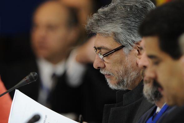 El senador oficialista Alberto Grillón, aafirmó que la retirada de Lugo...