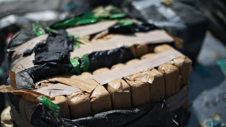 Drogas confiscadas