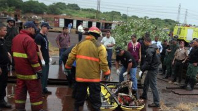 Ocho personas han muerto y 25 han resultado heridas en la colisión entre...