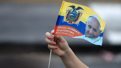 Se desborda la alegría por la llegada del Papa