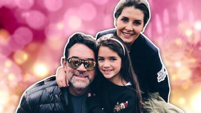 Cumpleaños en familia: Mayrín Villanueva y Eduardo Santamarina celebraron a su pequeña Julia
