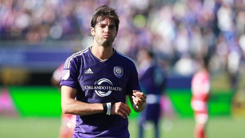 Kaká decepcionado tras el partido ante los Revs.