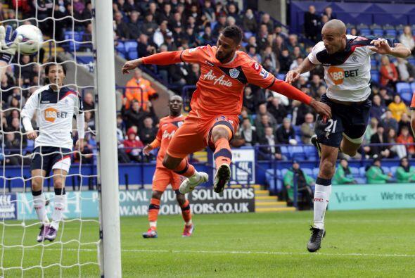 Bolton había logrado el empate transitorio pero la alegría duro poco.