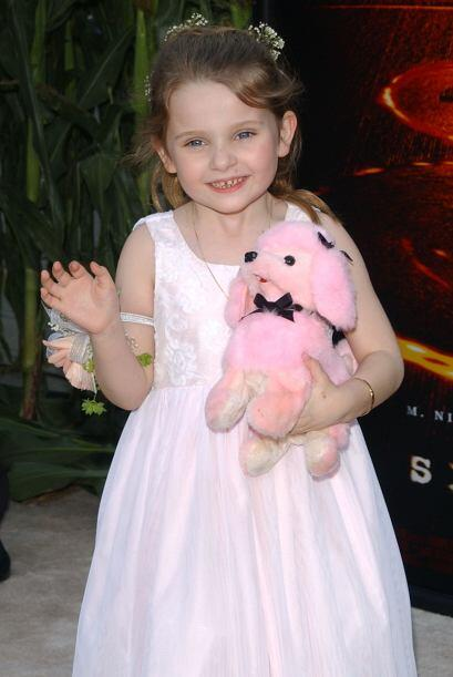 """Abigail Breslin en el estreno de la cinta """"Signs"""" en julio de 2002. Actu..."""