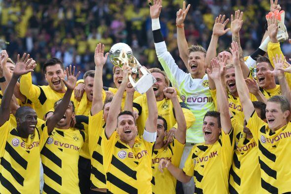 Pero otra vez compartirá sector con el peligrosísimo Borussia Dortmund (...