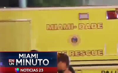 'Miami en un Minuto': hombre acusado de provocar grave accidente en Miam...