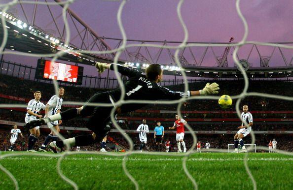 Antes de que termine la primera etapa, Arsenal ganaba 2 a 0...y faltaba...