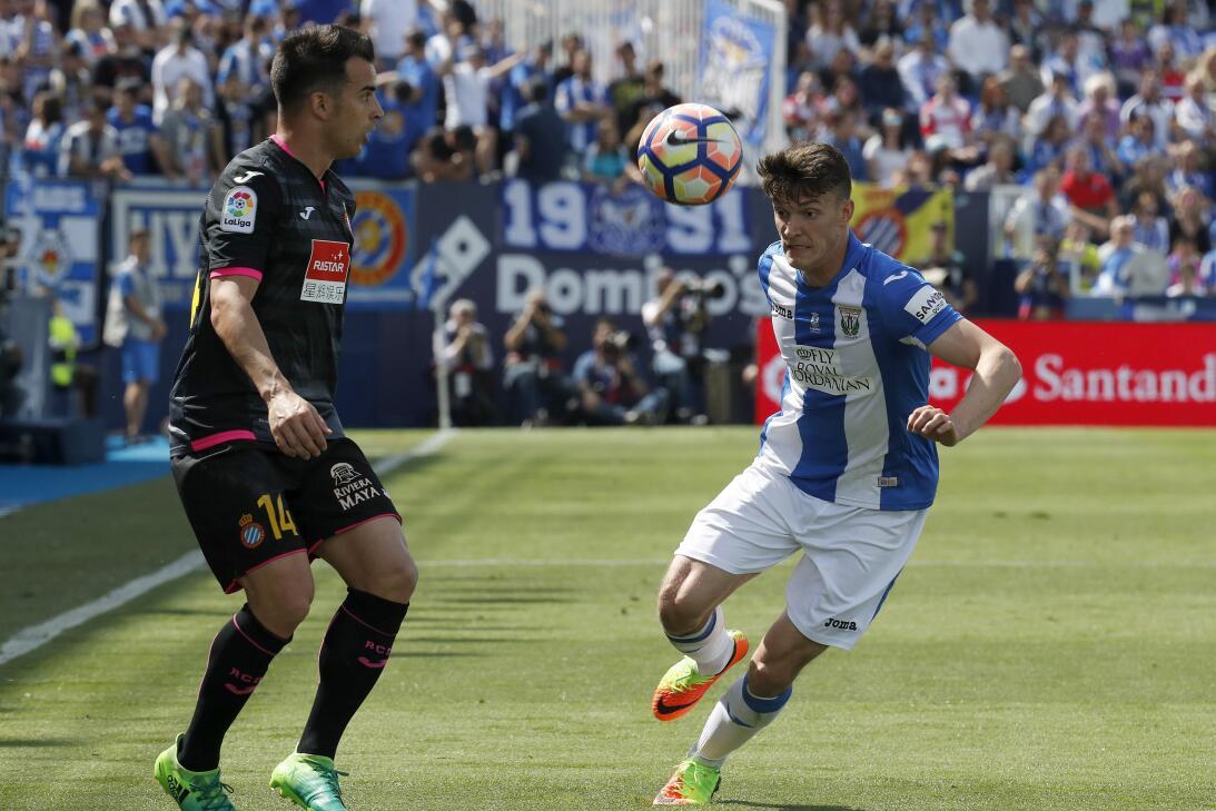 Triunfo 'in extremis' del Espanyol ante el Leganés con Diego Reyes en ca...