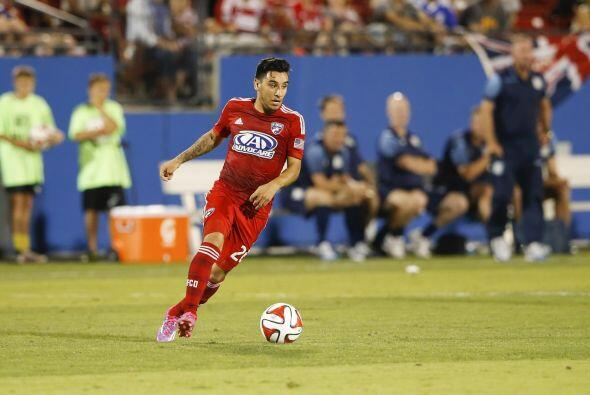Danny García - FC Dallas. Nació en Texas y mide 1,65 metros, puede jugar...