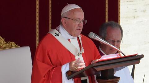 El papa lamenta el atentado perpetrado en Londres y clama por la paz dur...
