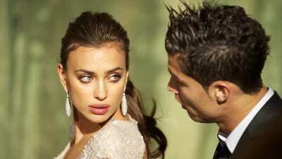 Irina deja a Cristiano solo en el Mundial