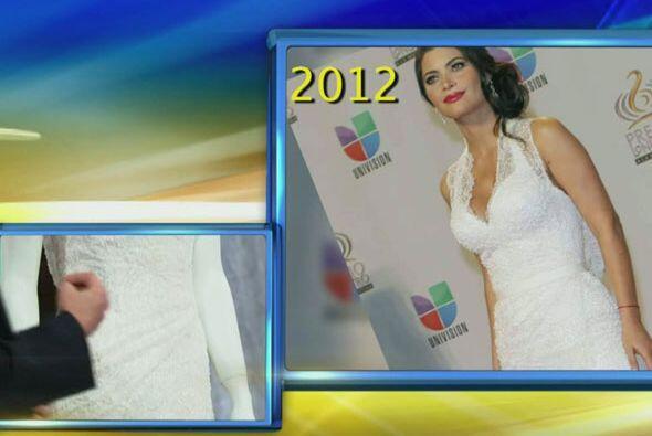 """""""Este vestido lo usó Chiquinquirá Delgado en el 2012 y aun..."""