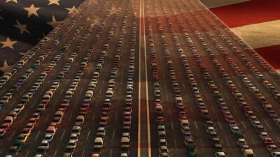 Estas son las 10 ciudades con peor tráfico en Estados Unidos