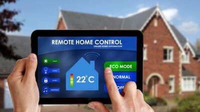 Las casas inteligentes son cada vez más comunes.
