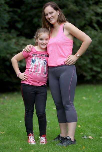 De pronto cuando su hija Elisha quiso aprender a andar en bicicleta, Kim...