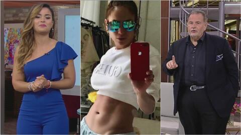 Clarissa nos mostró el súper abdomen de Jennifer López pero Raúl asegura...