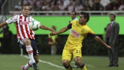 El clásico, uno de los partidos más vistos del fútbol mexicano.