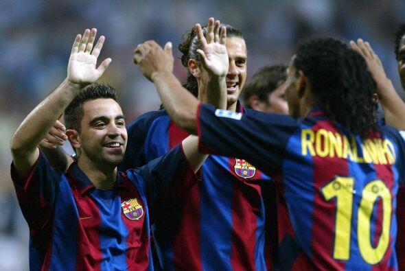 Y fue en la temporada 2003-2004 durante la jornada 34, cuando el Barcelo...
