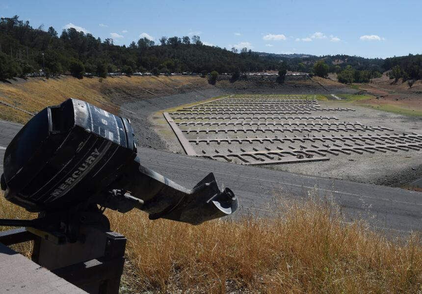 Imágenes de la sequía que azota California, la peor que ha vivido en los...
