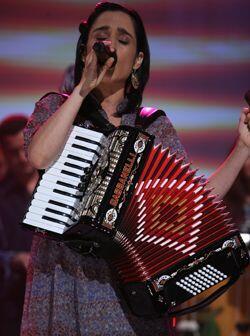Julieta Venegas se ha transformado en una artista internacional, a lo la...