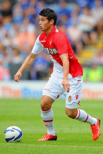 James Rodríguez ya manifestó su deseo de formar parte del Real Madrid as...