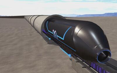 El ultrarrápido 'hyperloop': conoce el transporte del futuro