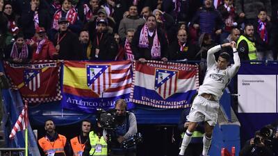 El show de Cristiano Ronaldo en el triunfo contra Atlético de Madrid