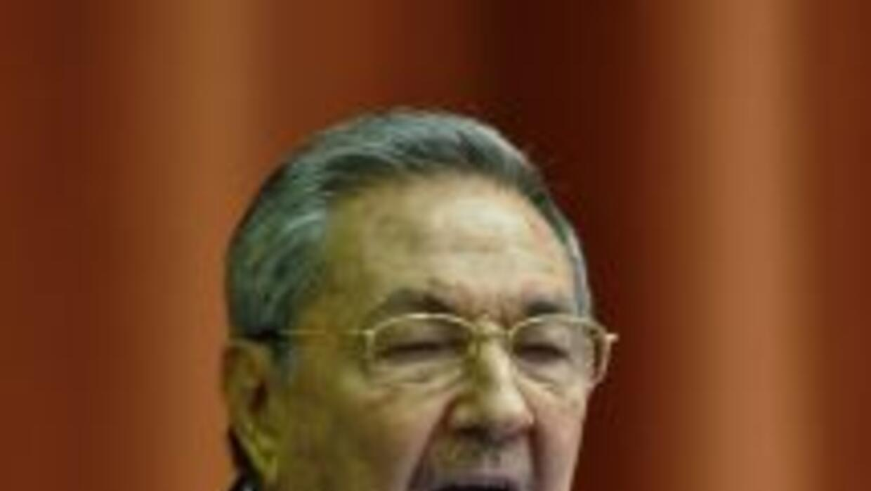 El presidente de Cuba, Raúl Castro, dijo que en la isla le darán una cal...