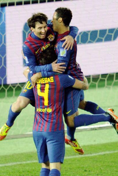 El Barcelona dio otra lección de fútbol, ya perdimos la cu...