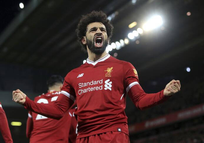 12. Mohammed Salah (Liverpool) - 140,5 millones de euros