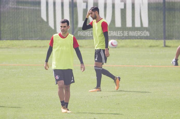Volvió la #4ctitud al Atlas: Rafa Márquez ya está entrenándose nuevament...