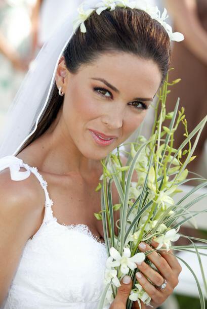 Jacqueline Bracamontes hizo pocas telenovelas  pero era ya una de las fa...