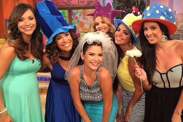 """""""Que emoción! Que viva la novia #AnaseCasa"""", festejó Maity Interiano. (m..."""