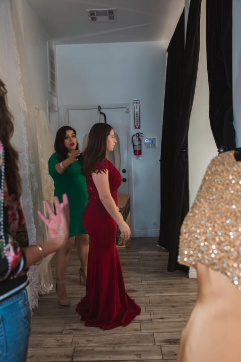 En fotos: Así fue como Jaqueline Paz fue sorprendida por Omar y Argelia...
