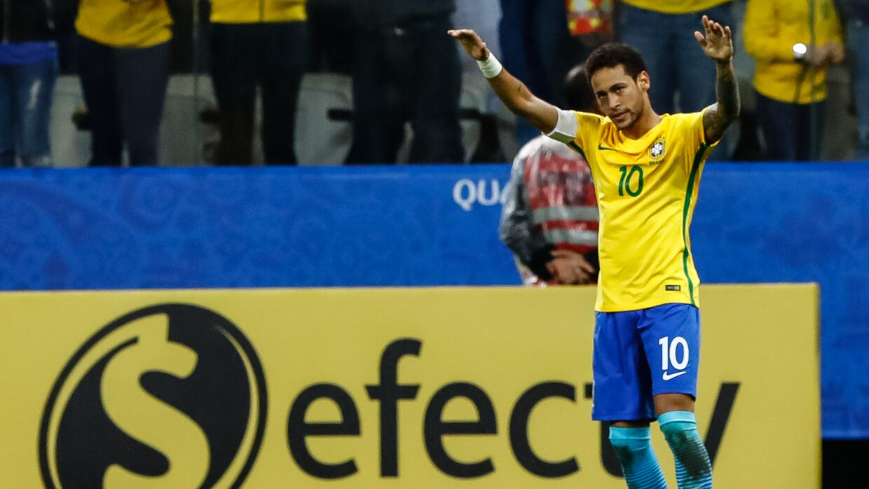 1. Brasil - 1,661 puntos - La 'canarinha' ya está en Rusia 2018 y...